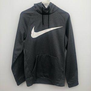 Men's nike gray hoodie